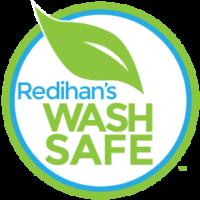 Redihan's wash safe logo