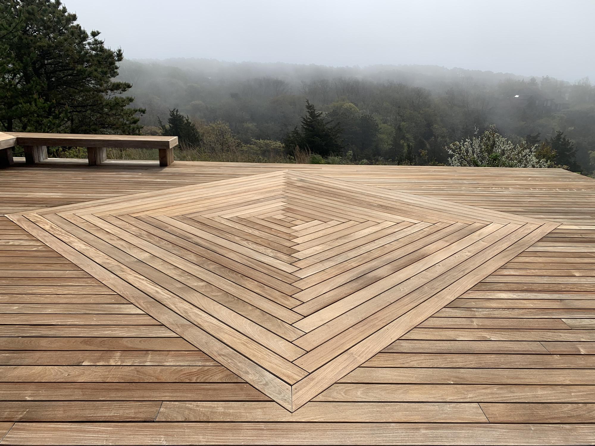 deck after wash